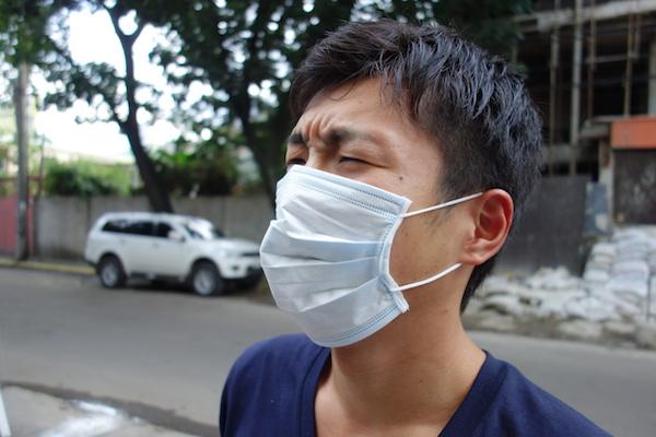 ジプニーに乗るのであれば、マスクは必須です。