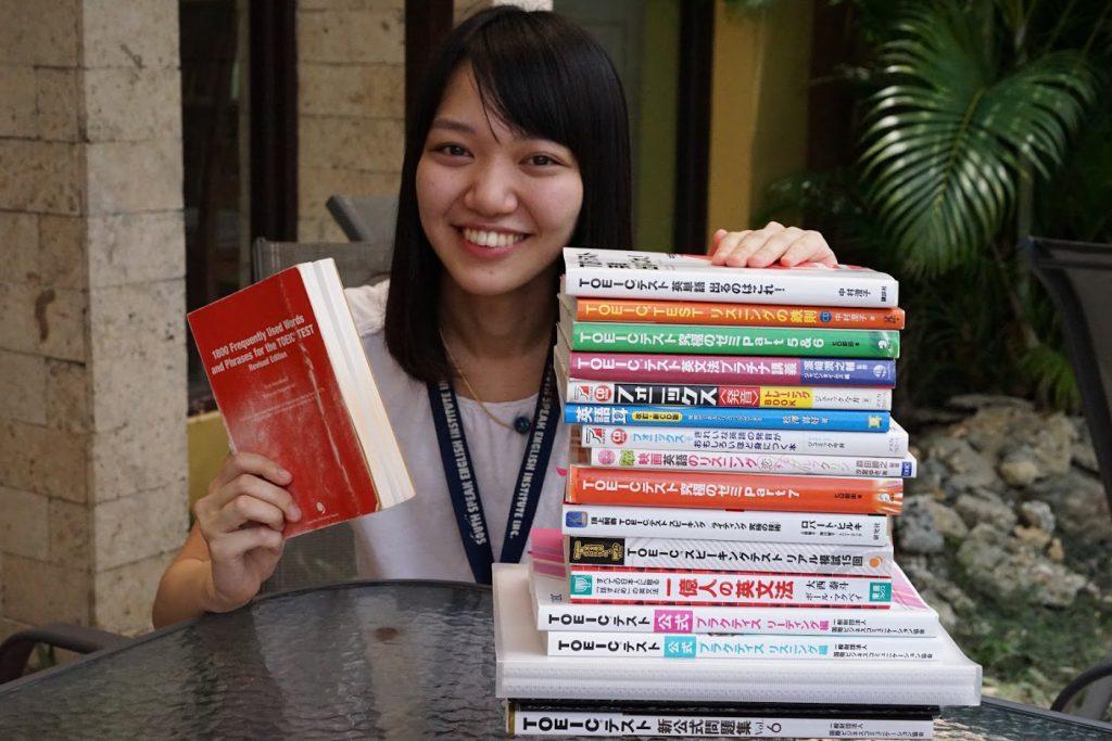 サウスピークでは日本で販売されている有名参考書を使って英語学習を出来ます。